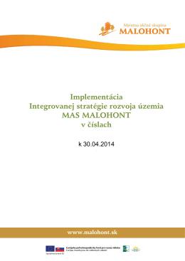Implementácia ISRU v číslach k 30.04.2014
