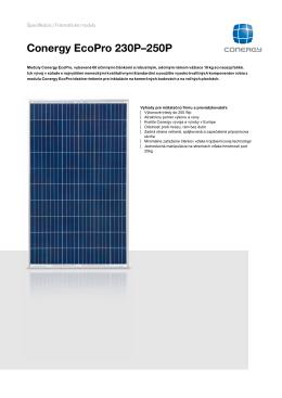 Conergy EcoPro 230-250