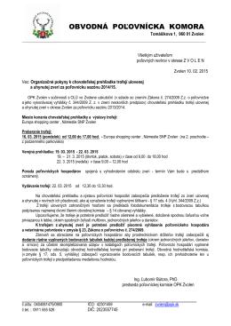 Org. pokyny - opkzvolen.sk