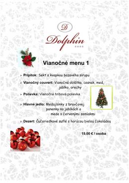 Vianočné menu 1