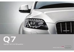 Audi Q7   Q7 V12 TDI quattro