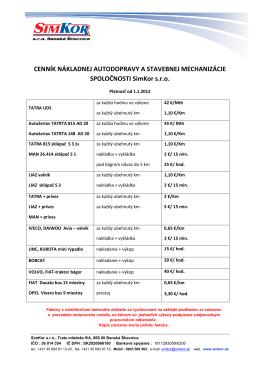 cenník nákladnej autodopravy a stavebnej mechanizácie.pdf