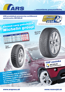 Michelin group - Rezervujsi.sk