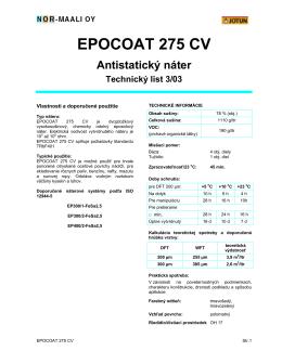 EPOCOAT 275 CV