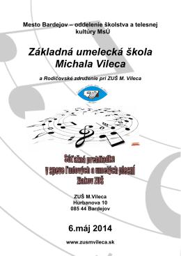 Súťažná prehliadky v speve ľudových a umelých piesní 2014