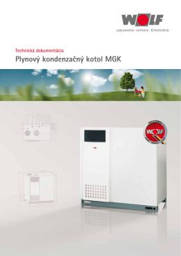 Technická dokumentácia pre kondenzačný kotol
