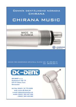 CHIRANA MUSIC