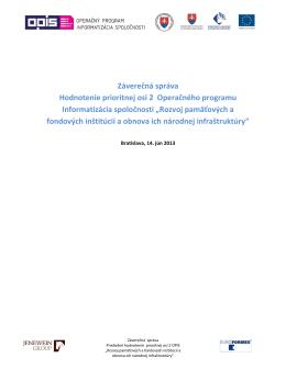 Záverečná správa RO 2013_4162_zs_po2_v08