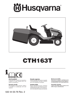 OM, CTH163T, 96051000300, 2011-10, Tractor, CZ, HR, SI, PL, SK