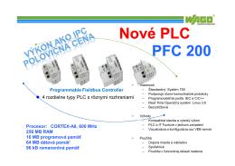 PFC200 = výkonnejšie PLC