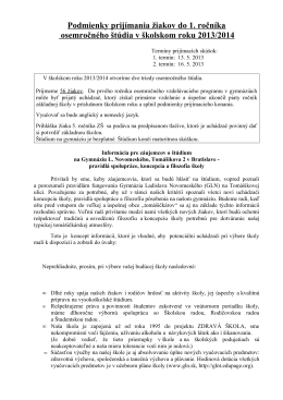 Gymnázium Ladislava Novomeského