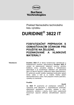 DURIDINE 3822 IT