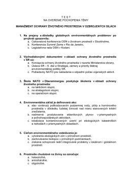 Test TÉMA3 - osveta.mil.sk