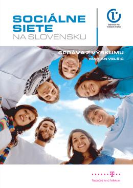 Sociálne siete na Slovensku - Inštitút pre verejné otázky