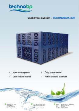 Vsakovací systém - TECHNOBOX 200 - Purator