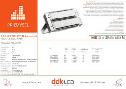 PRIEMYSEL - DDK-LED