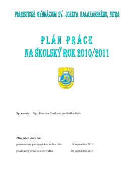 Šk.rok 2010-2011
