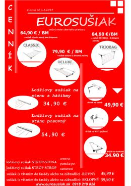 EUROSUŠIAK - Eurosusiak