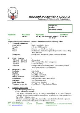 Propozície - polovnici.orava.sk