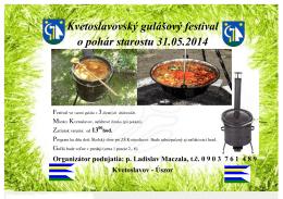 Kvetoslavovský gulášový festival o pohár