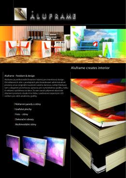 Aluframe creates interior