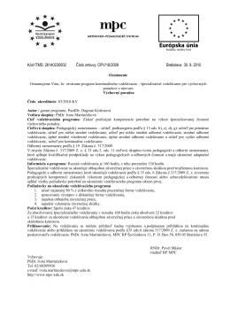 Výchovný poradca - Asociácia výchovných poradcov