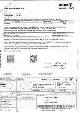 Allianz f ! Slovenská poisťovňa 40 •