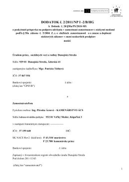 20/50a/PS - Úrad práce, sociálnych vecí a rodiny
