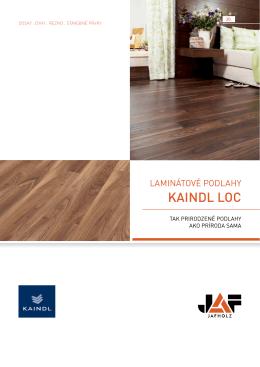 KAINDL LOC Laminátové Podlahy
