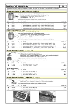 23.mosadznÉ armatÚry (pdf - 238.38 kB)