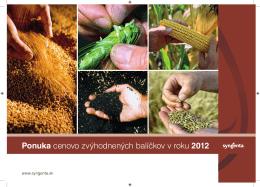 Syngenta Leaflet Balíčky 2012 SK.indd
