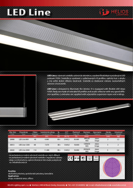 LED Line - Helios Lighting