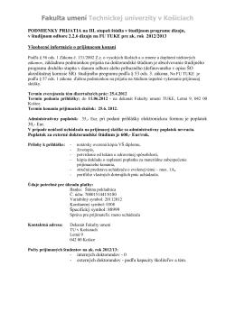 Fakulta umení Technickej univerzity v Košiciach