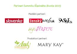 partneri copy - Summit šťastného života 2015