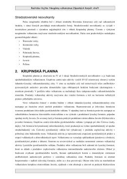 2. KRUPINSKÁ PLANINA