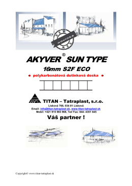 Akyver S2F 16mm ECO - Titan