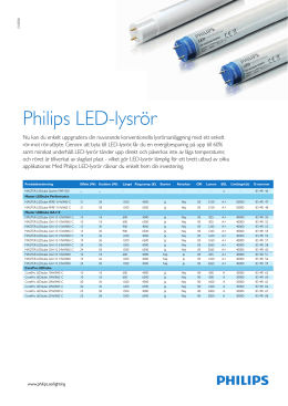 Philips LED-lysrör