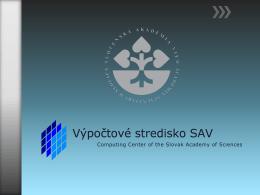 Prezentácia VVT