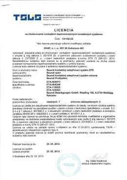 baumit licencia