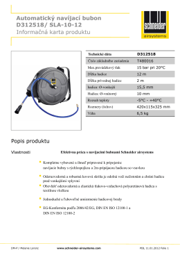 Automatický navíjací bubon SLA-10-12