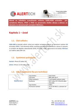 Manuál pre pripojenie sa na IP zariadenia HikVision