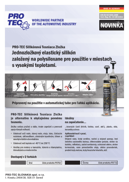 PRO-TEC Silikóny protec - PRO