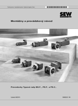 Série BS.F.., PS.F.. a PS.C.. / Návod na použitie / 2010-08