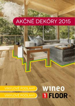 WINEO a 1 FLOOR Akciové vinylové podlahy v