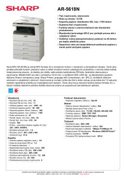 AR5618N - proficopy.sk