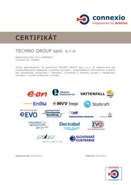 Connexio Certificate
