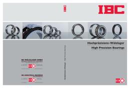 PDF - IBC Wälzlager GmbH
