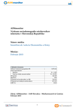 hnonline.sk|sekcia Ekonomika