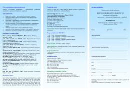 2013 Pozvánka na konferenciu Euroregion