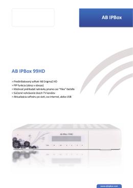 AB IPBox AB IPBox 99HD